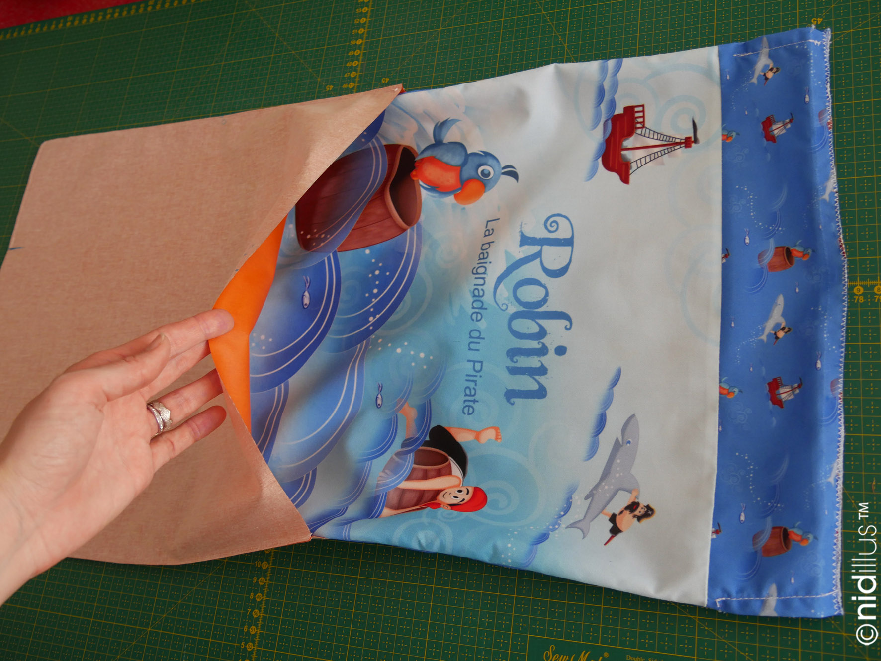 tuto sac piscine coupon tissu illustre nidillus24