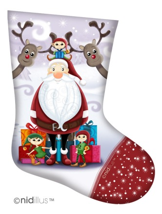 nidillus-coupon chaussettes -pere noel
