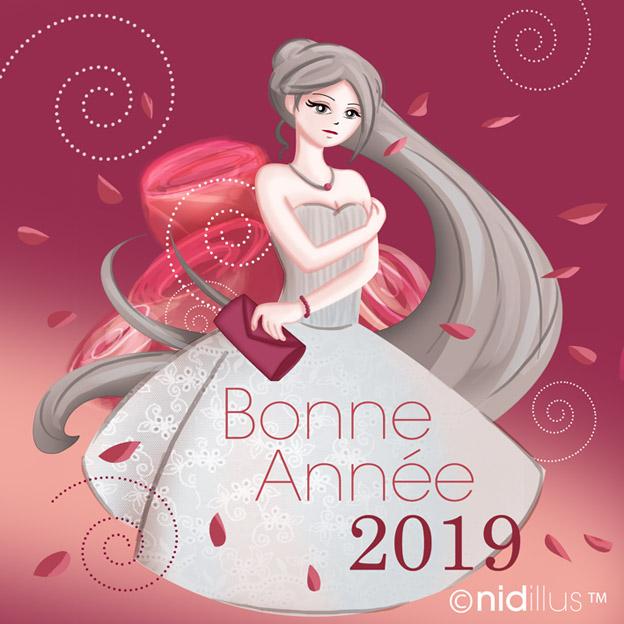 nidillus bonne année 2019 carte 72