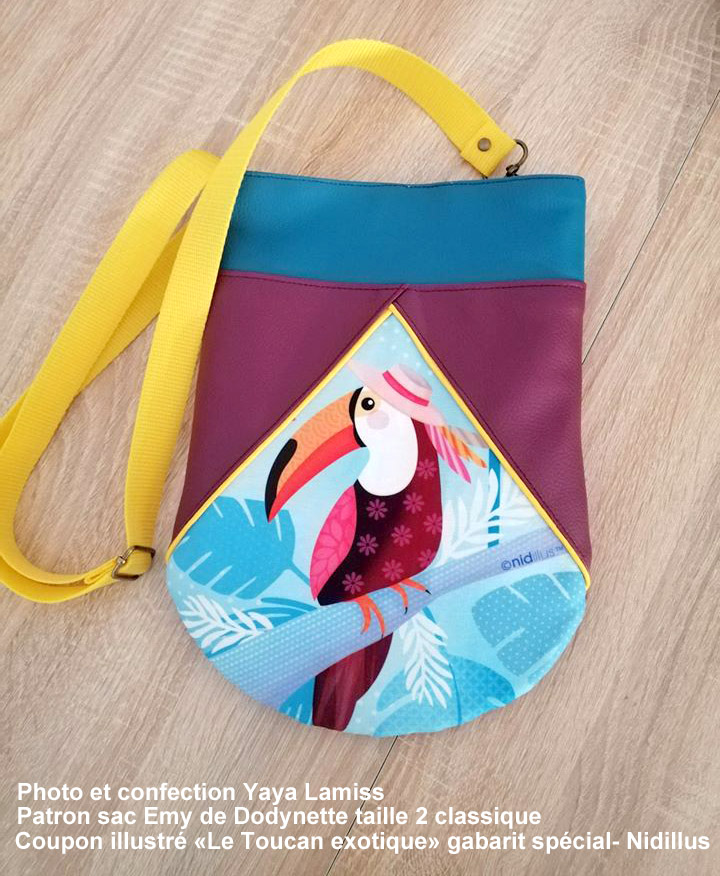 yaya coupon illustre toucan sac emy dodynette nidillus 72